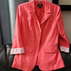 Jackets & Blazers - Coral women blazer